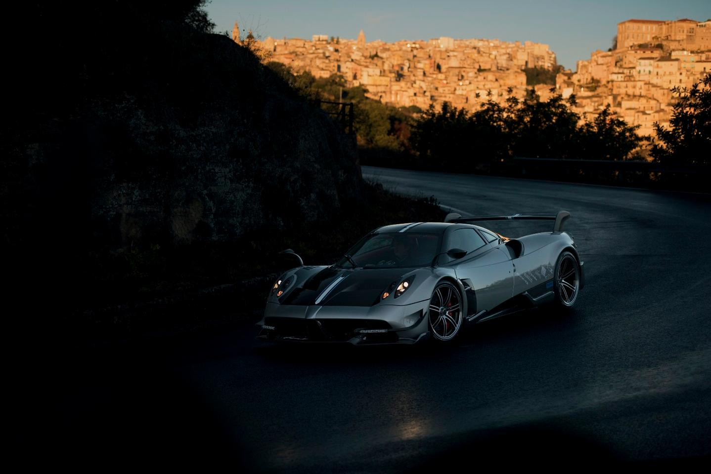 The Huayra gets a thorough redesign