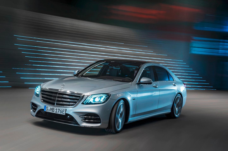 The new Mercedes-Benz S650e