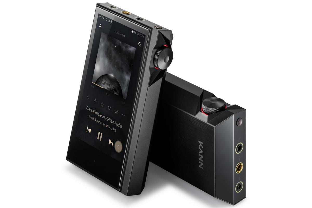 The Alpha DAP is the third player in Astell&Kern's Kann performance line