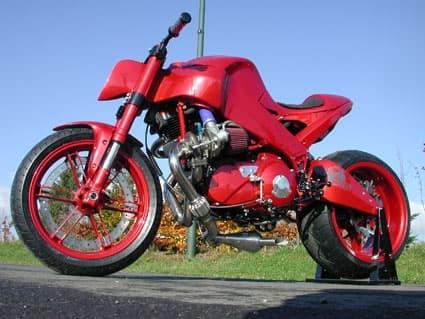 The Hellbender - 145 horsepower Buell XB