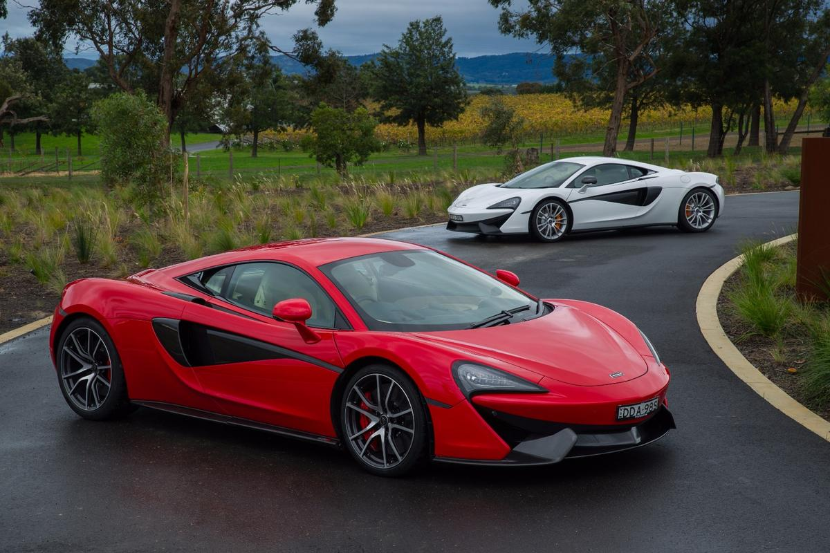 McLaren's Sport series: the red 570S shades the white 540C but both are magnificent