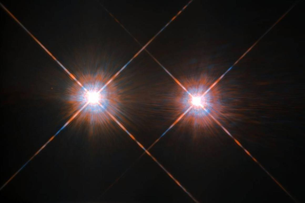 The two larger stars in the Alpha Centaurisystem arerelevant to our search for extraterrestrial life due to their similarities to our own star