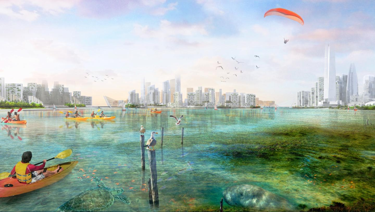 Sasaki is working alongside developers Country Garden Holdings and Esplanade Danga 88 to bring the masterplan to life