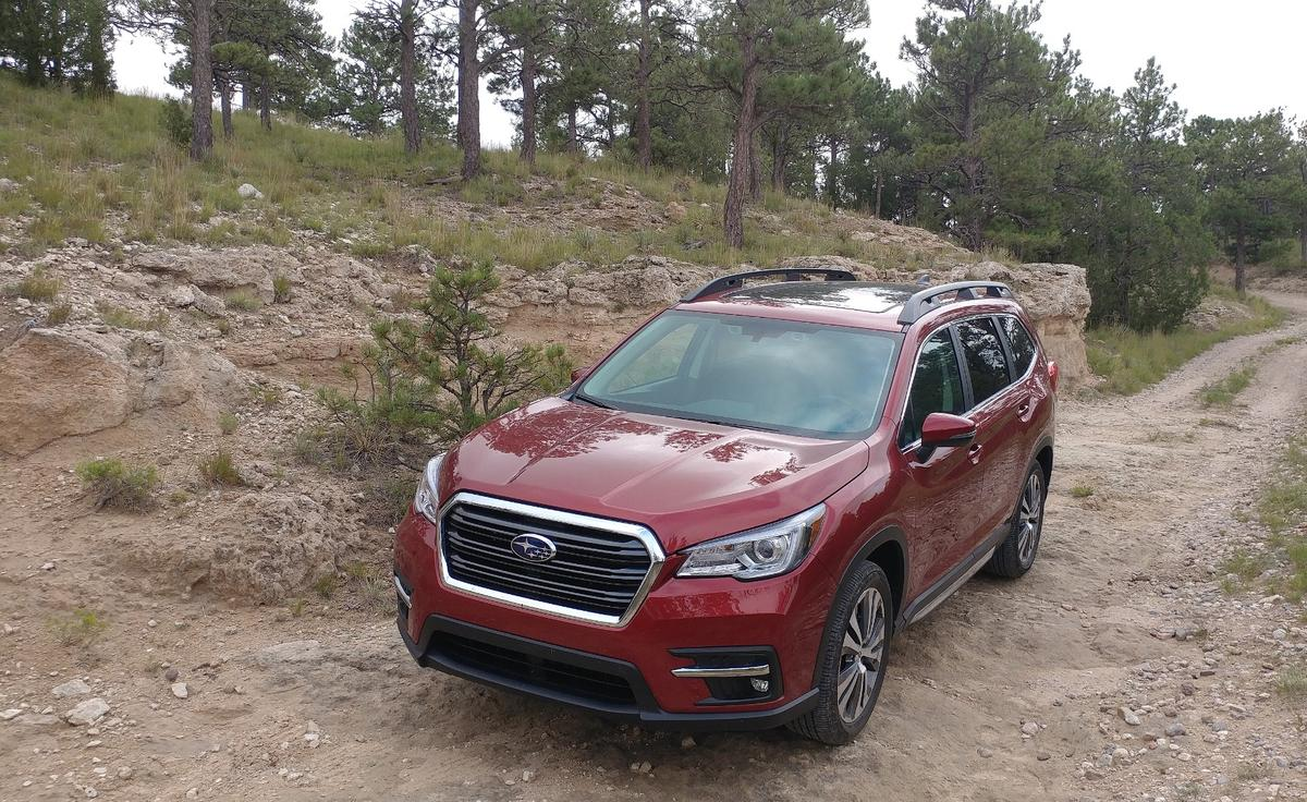 The Ascent is not Subaru's first attempt at a three-row crossover, but it's certainly the most marketable one to wear the six-star badge
