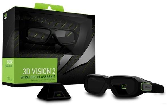 NVIDIA's 3D Vision 2 glasses kit