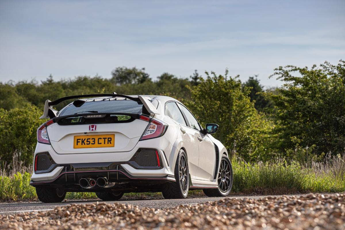 The Team Dynamics Motorsport's Civic concept is road-legal, but race-ready