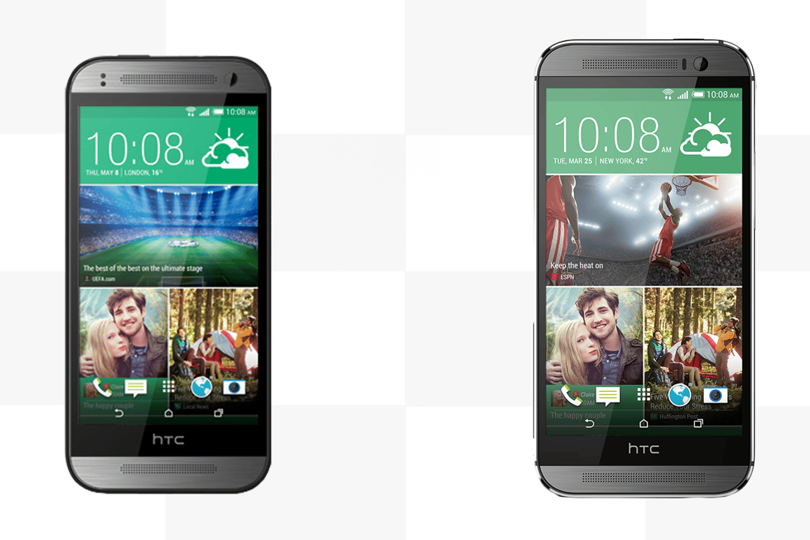 The HTC One (M8) and HTC One mini 2 may look similar, but there are some significant differences under the hood