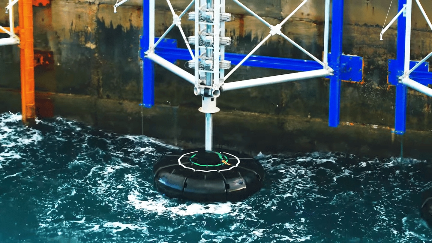 The company has structure-mounted wave energy harvesting prototypes in the field
