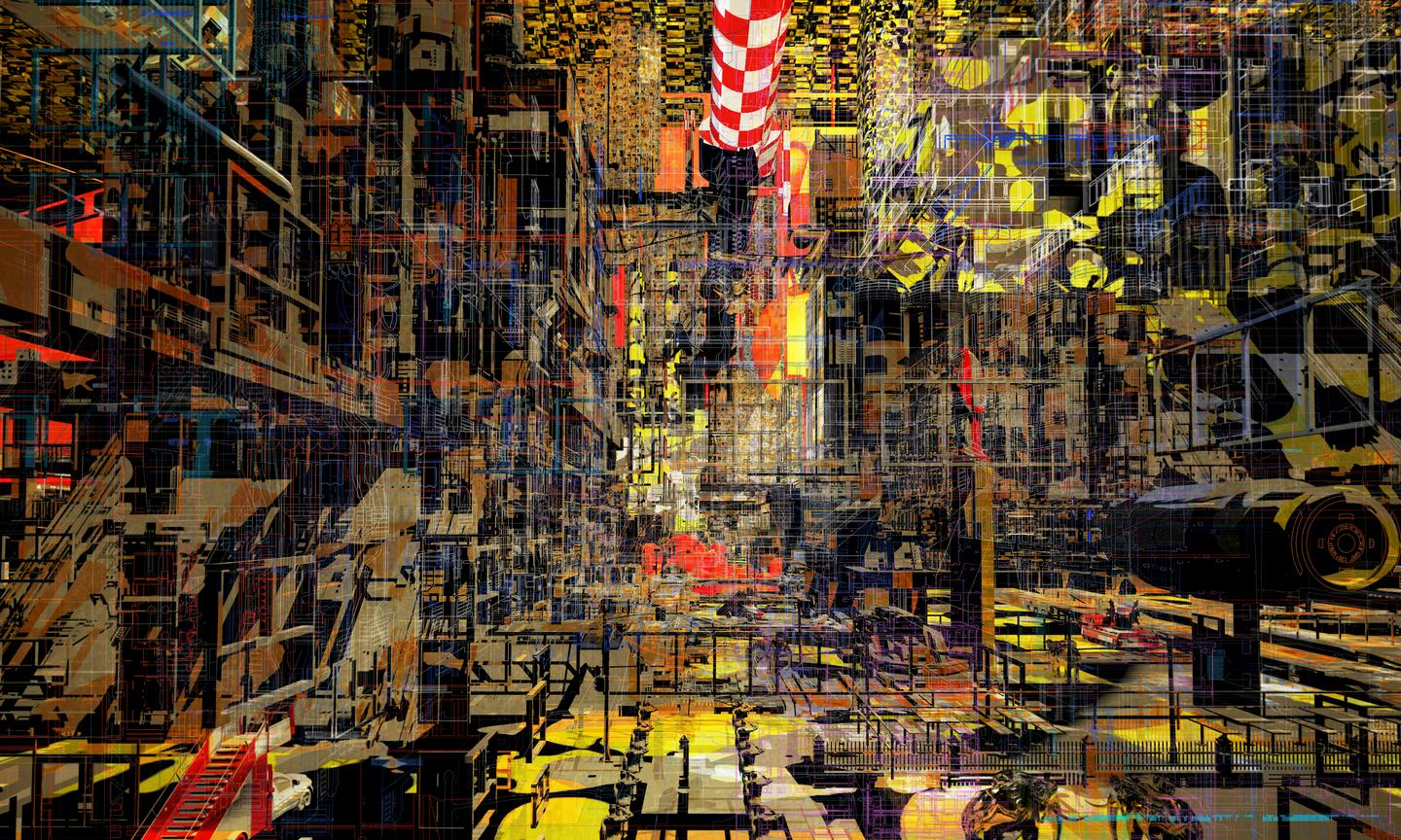 Anton Markus Pasing has won the 2019 Architecture Drawing Prize for his drawing titled City in a box: paradox memories