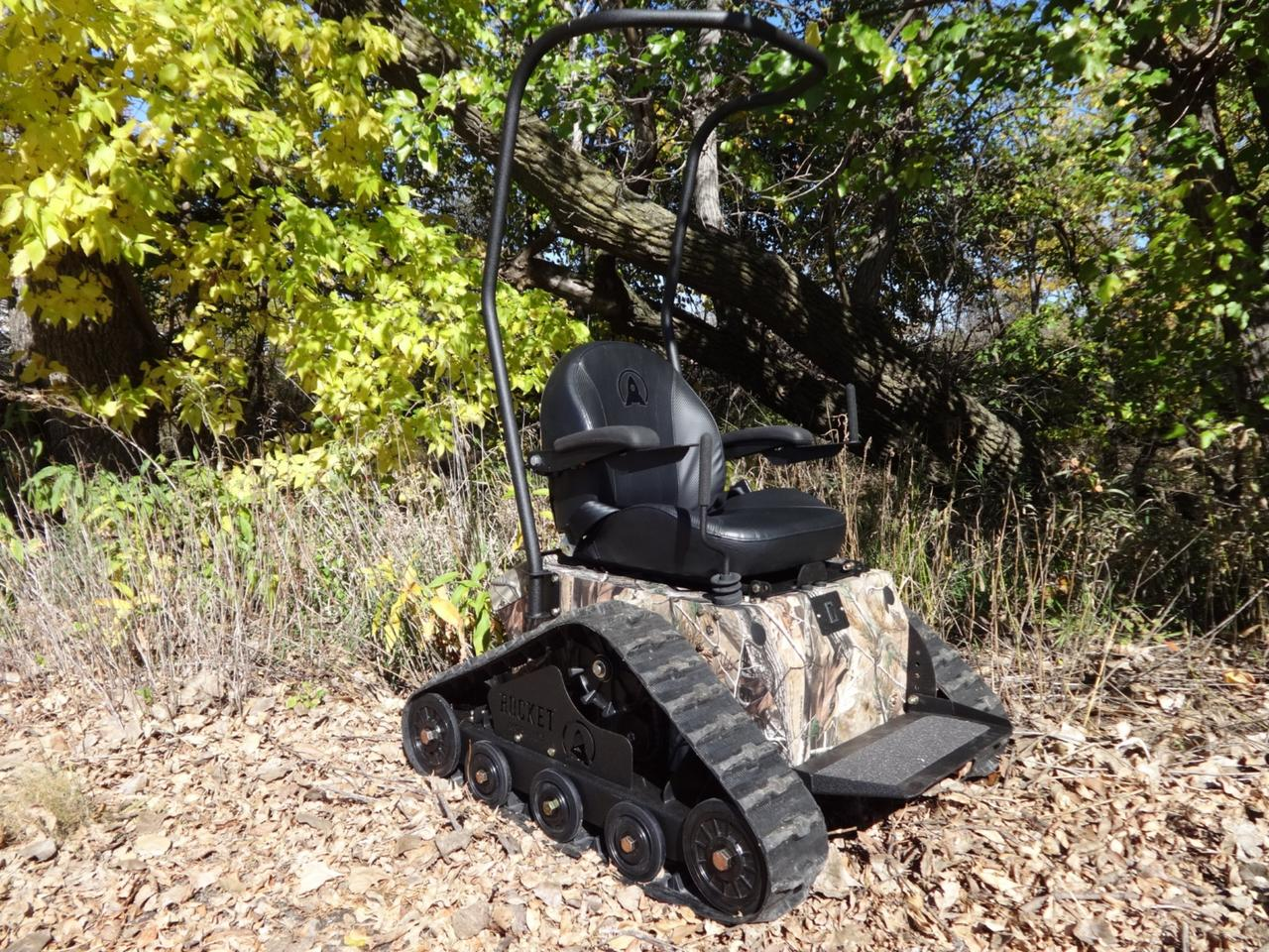 Rocket Mobility's Tomahawk all-terrain wheelchair gives the mobility impaired a chance to enjoy the great outdoors