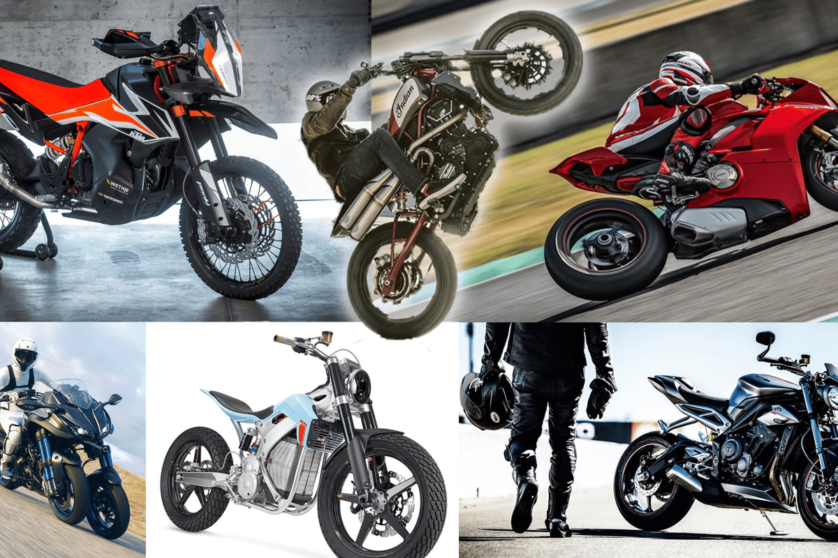 The fast, the furious, the freaky... And the 'ffordable? Our favourite motorcycles of 2017