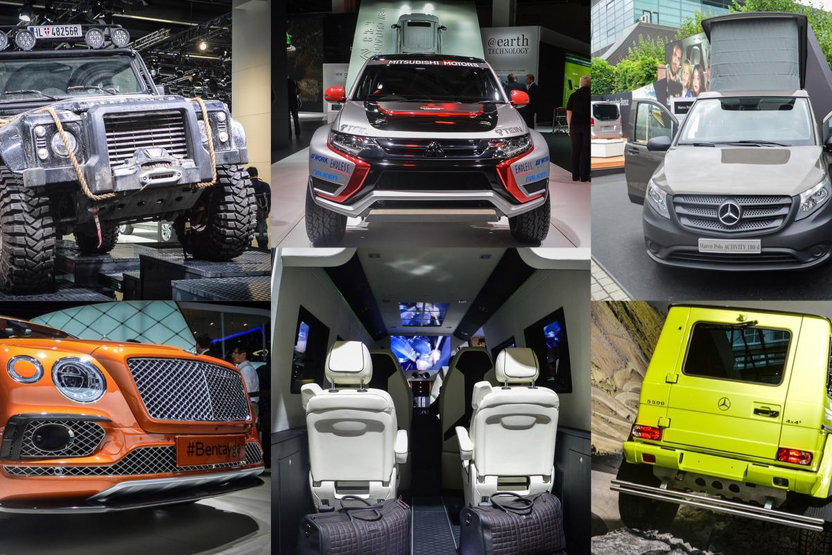 2015 Frankfurt Motor Show trucks, vans and SUVs