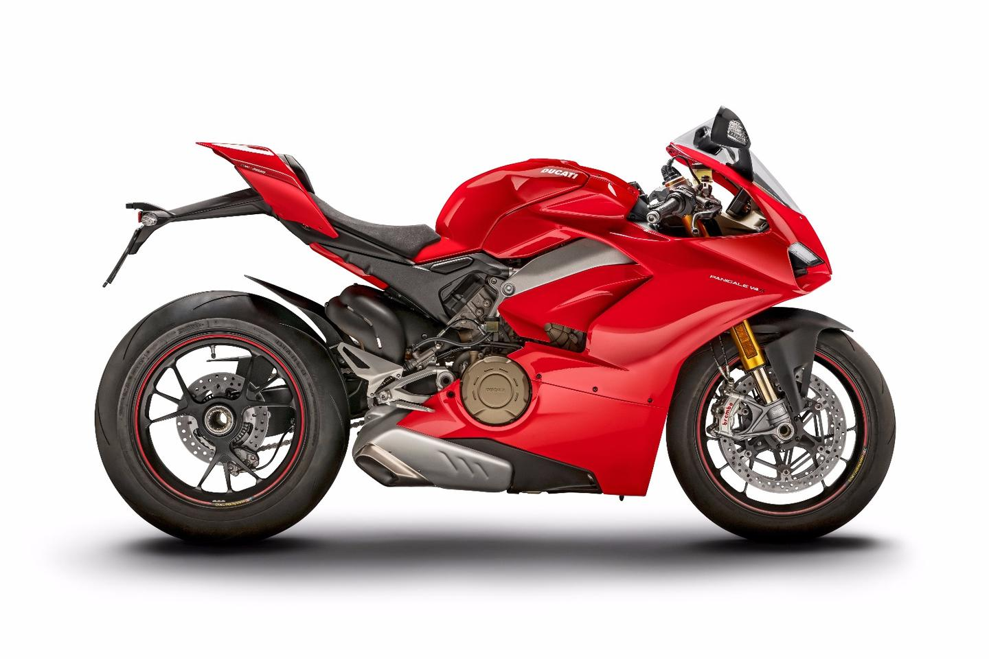 The 2018Panigale V4 is the most powerful bike ever in the superbike class