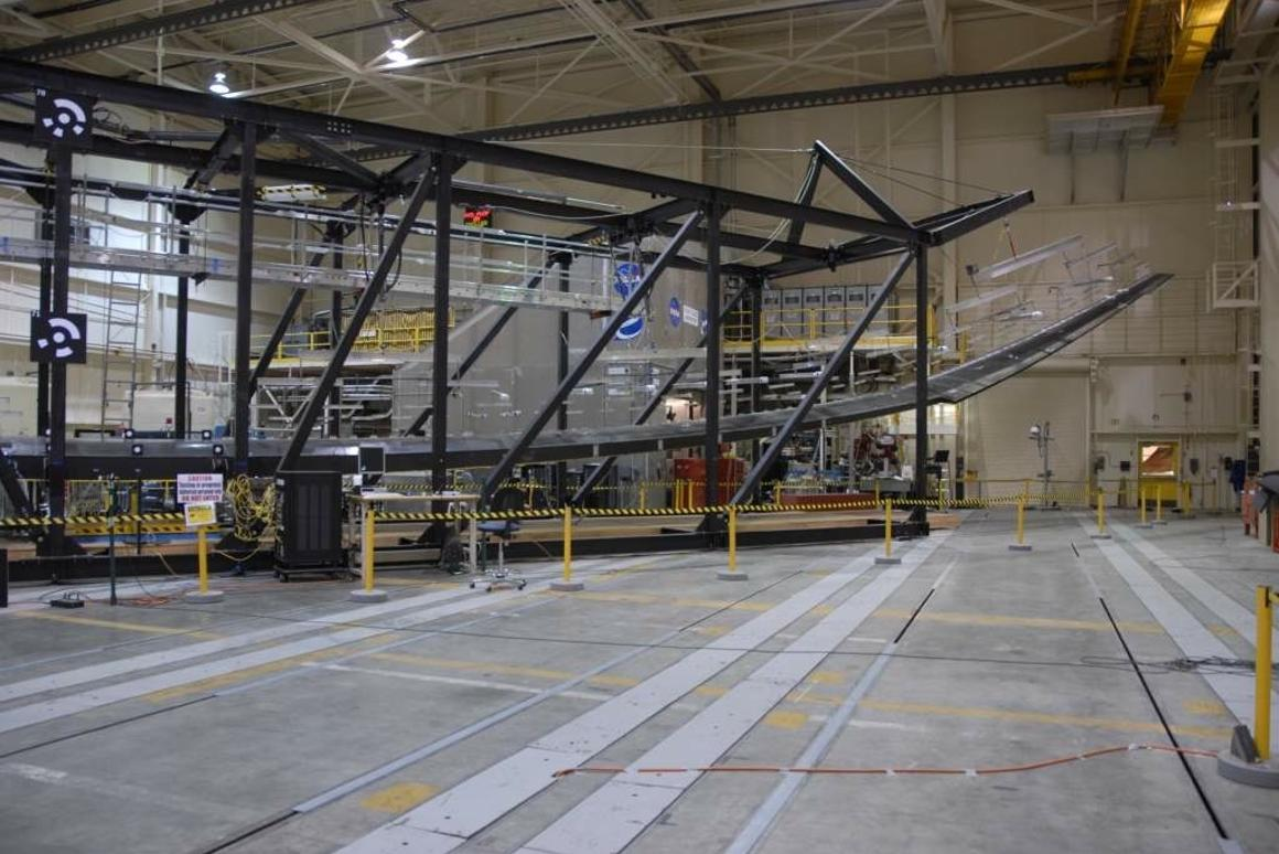 Global Observe has completed a series of Wing Load Tests at NASA's Dryden Flight Research Center