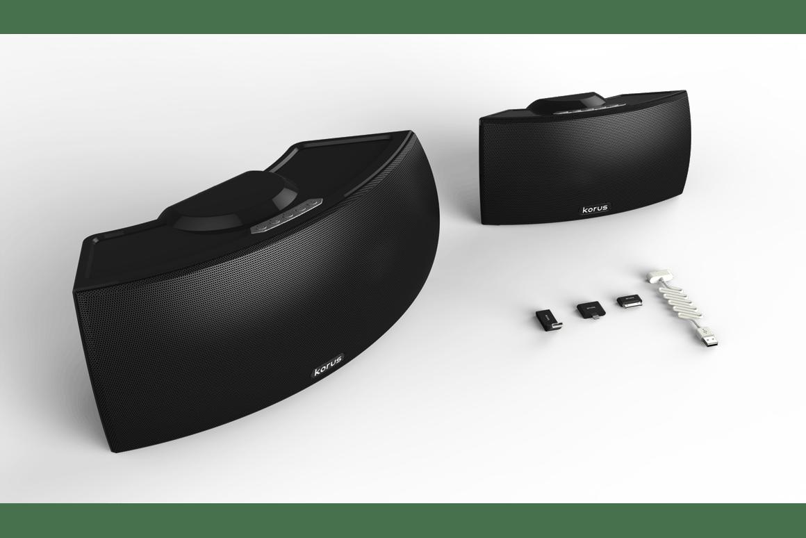 The Korus Wireless Speakers from Core Brands LLC