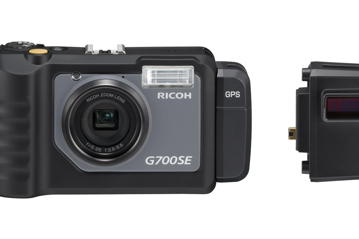 Ricoh has unveiled a Bluetooth and Wi-Fi enabled rugged camera aimed at outdoor professionals - the G700SE