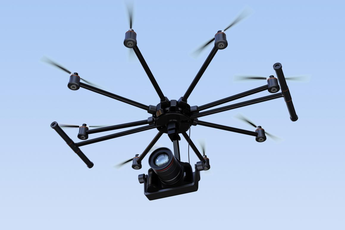 The system lets drones determine what shots look best, artistically-speaking