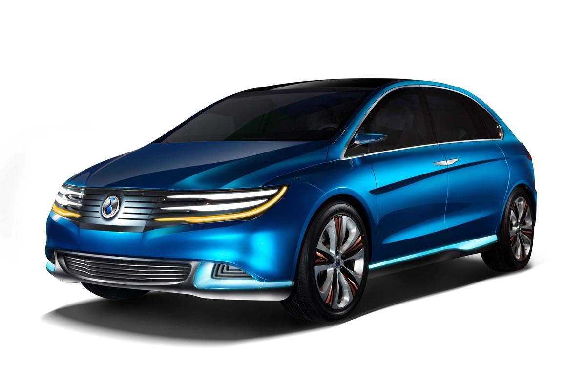 Denza all-electric car