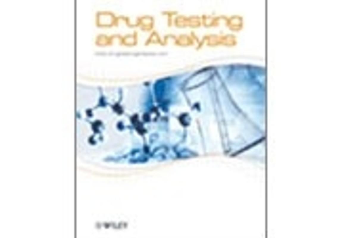 The front cover of the first issue of the new magazine Drug Testing Analysis
