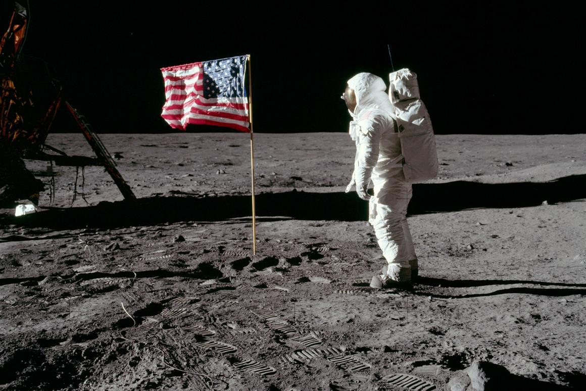 Buzz Aldrin went without the option of 3D printing spare parts out of lunar materials (Photo: NASA)