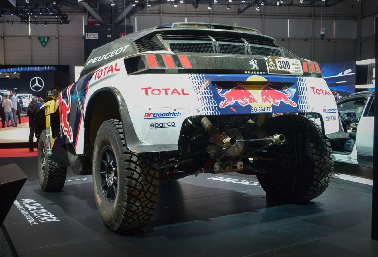 Peugeot shows the3008 DKRafter its Dakar victory