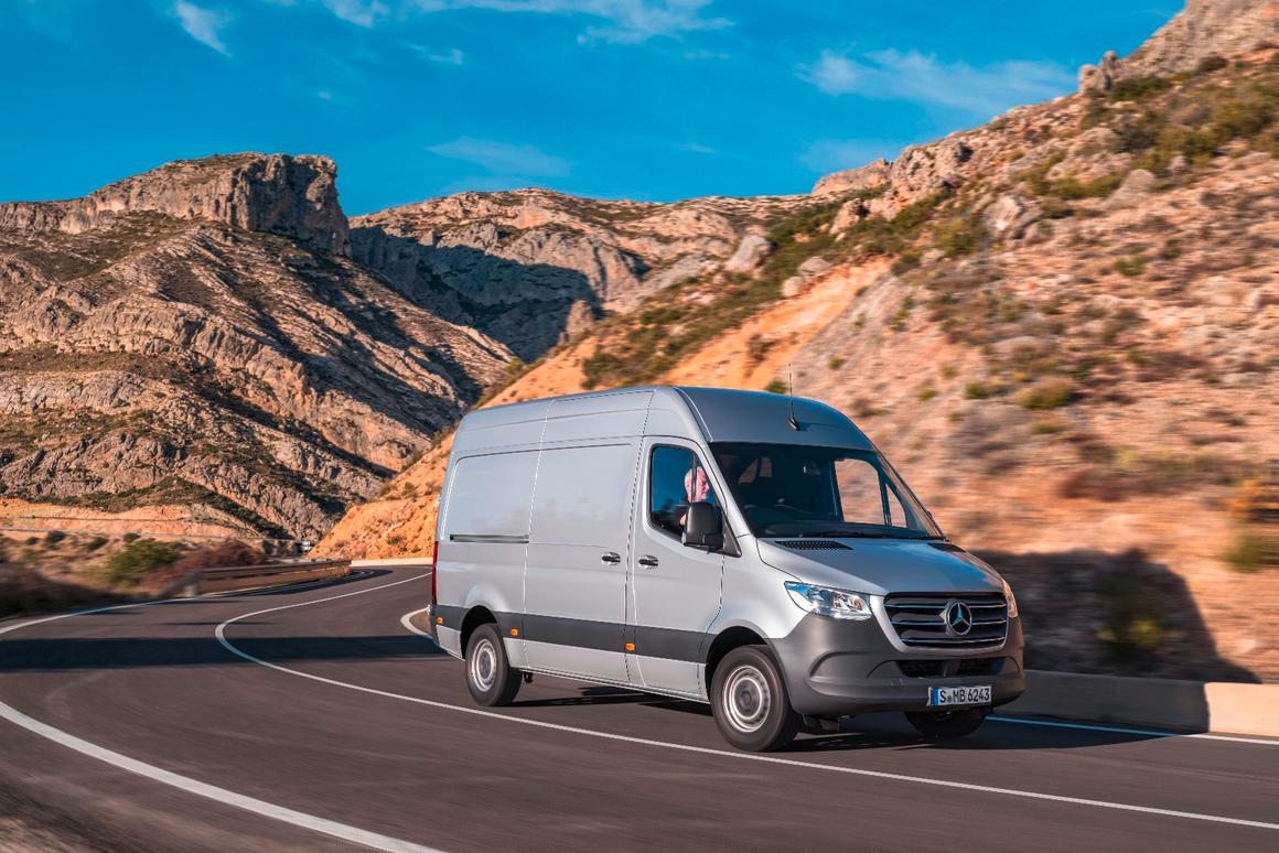 Electrified and connected Mercedes Sprinter to land in 2019