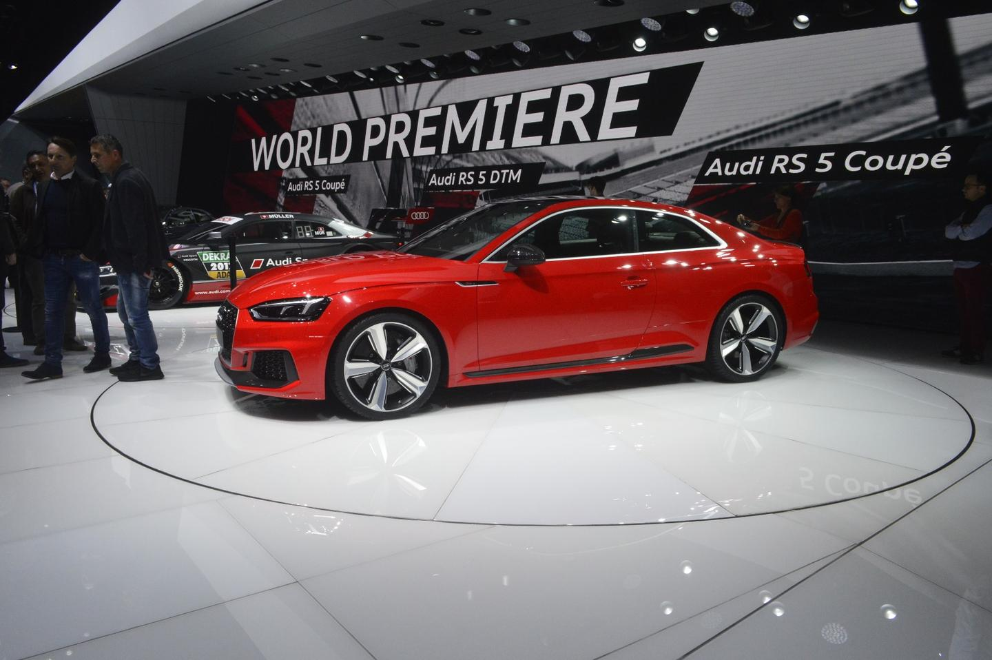 The new Audi RS 5 on show in Geneva