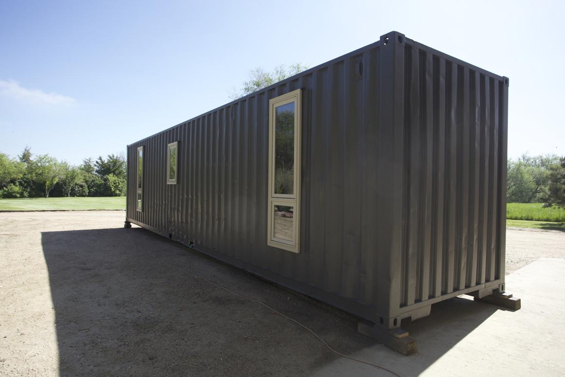 The Container Tiny House is currently up for sale and will set you back US$50,000