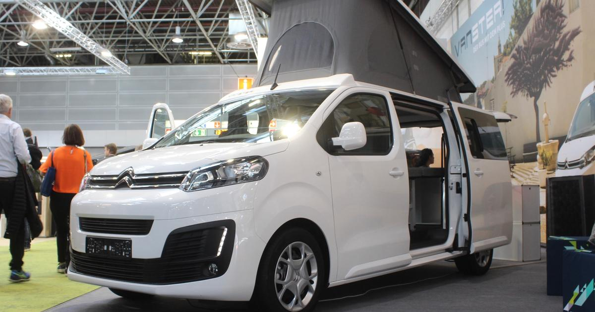 Crazy-versatile camper van transforms into 8-seat MPV and cargo van