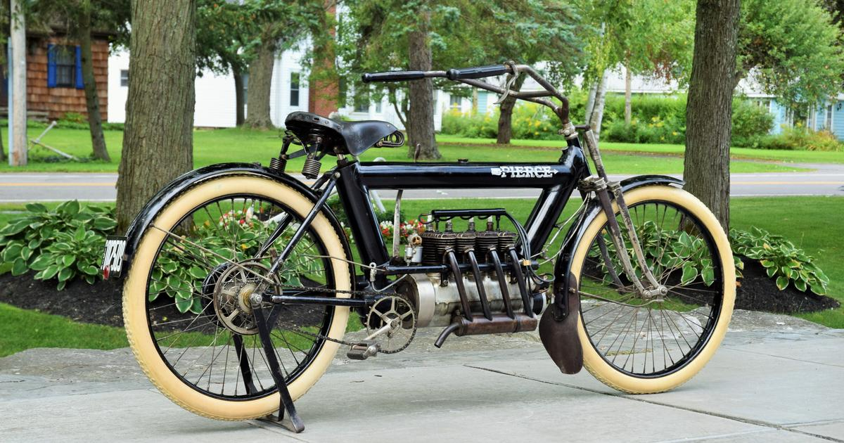Unrestored 109-year-old motorcycle sets auction record at $225,000 – still looks brand new