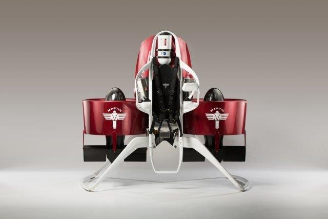 In its current state, the Martin Jetpack has a maximum speed of 74 km/h (46 mph)