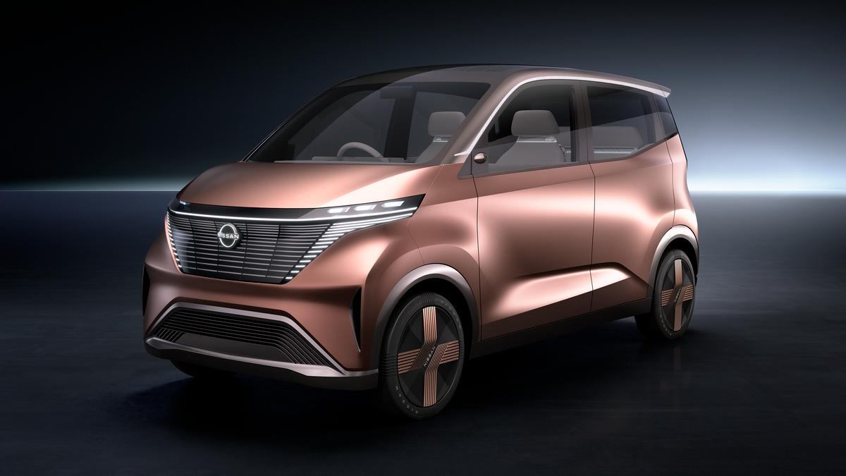 Nissan says that the IMk previews a new design direction for the company