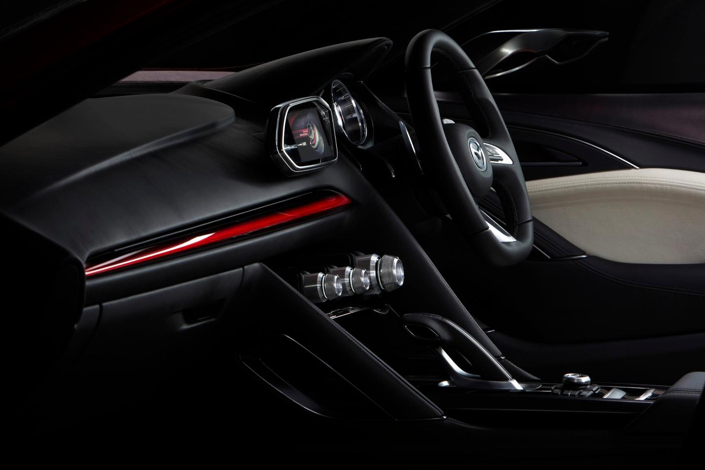 Mazda TAKERI interior