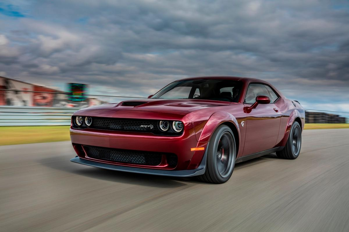 The Challenger SRT Hellcat Widebody has the same 707 hp as the standard Hellcat