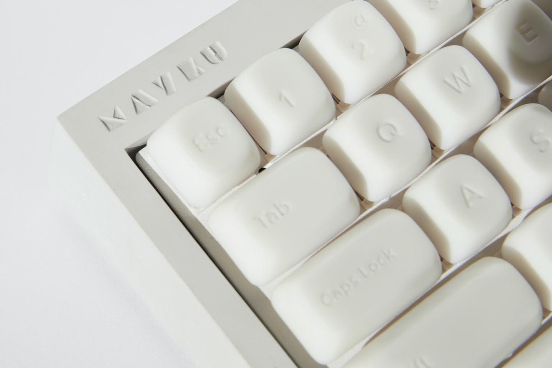 A keyboard manufactured using the Mayku Multiplier
