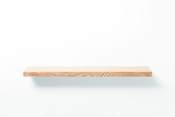 Clopen - the floating shelf as it looks bare hanging on the wall