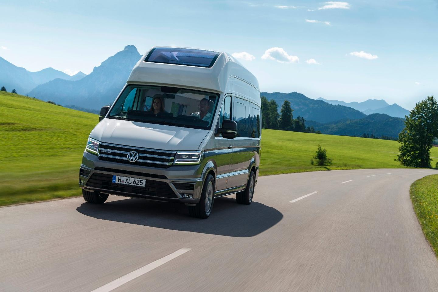 The Volkswagen California XXL is based on a medium-wheelbase Crafter
