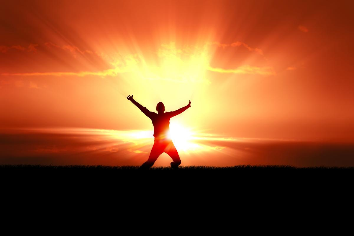 Research has found ultraviolet light triggers the release of natural endorphins helping make sure we produce enough vitamin D to stay healthy