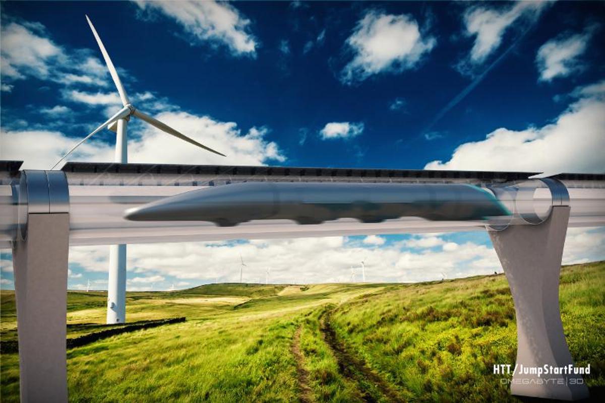 Hyperloop was originally released as a white paper by Elon Musk in 2013