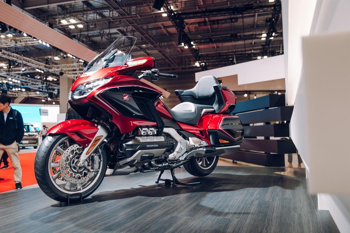 Honda unveiled the 2018 GL 1800 Goldwing on the opening day of the 45th Tokyo Motor Show