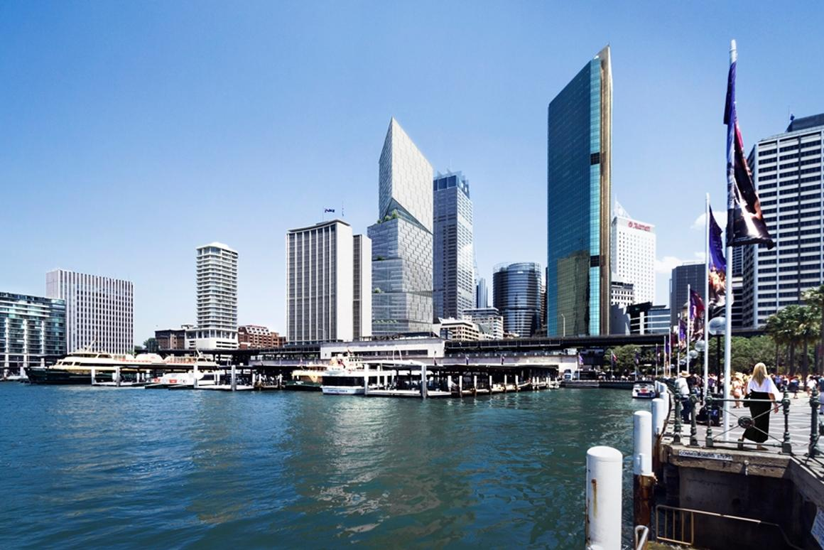 Quay Quarter Tower in Sydney, Australia, will feature a twisted, angled façade
