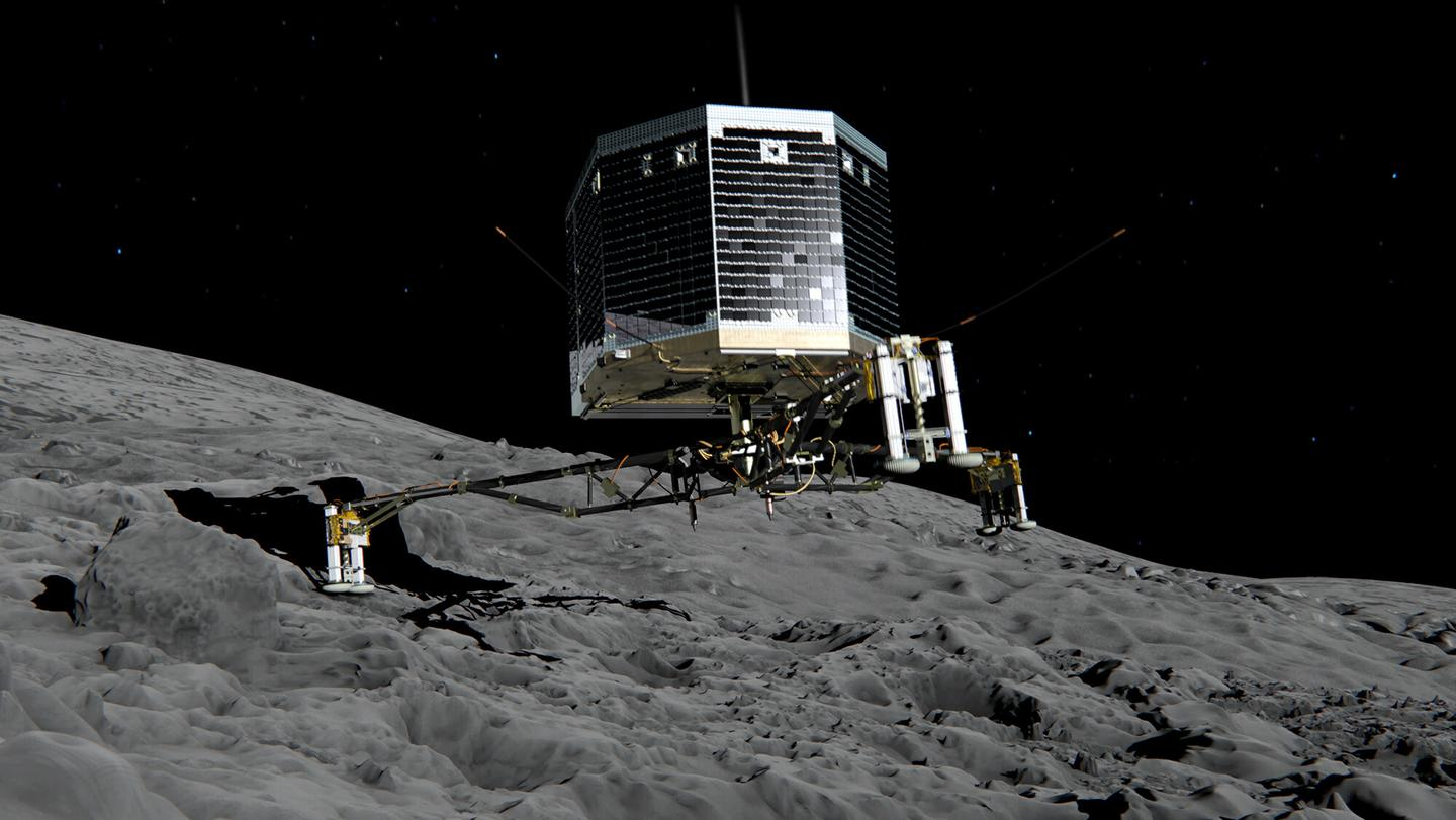 Artists impression of Philae probe