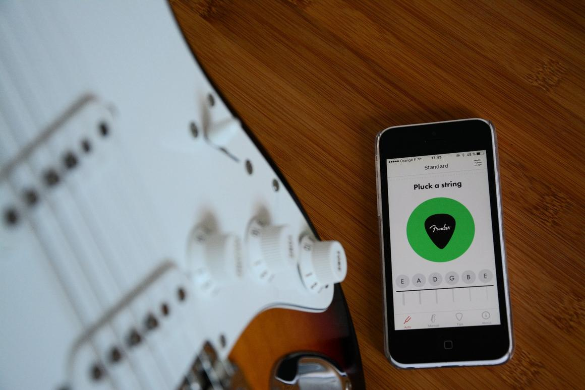 The Fender Tune app is powered by the company's own DSP technology and proved accurate in our quick tune-up testing