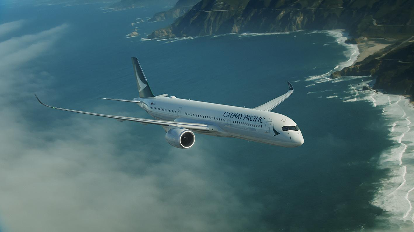 Cathay Pacific's first A350-900 will enter into service on June 1st