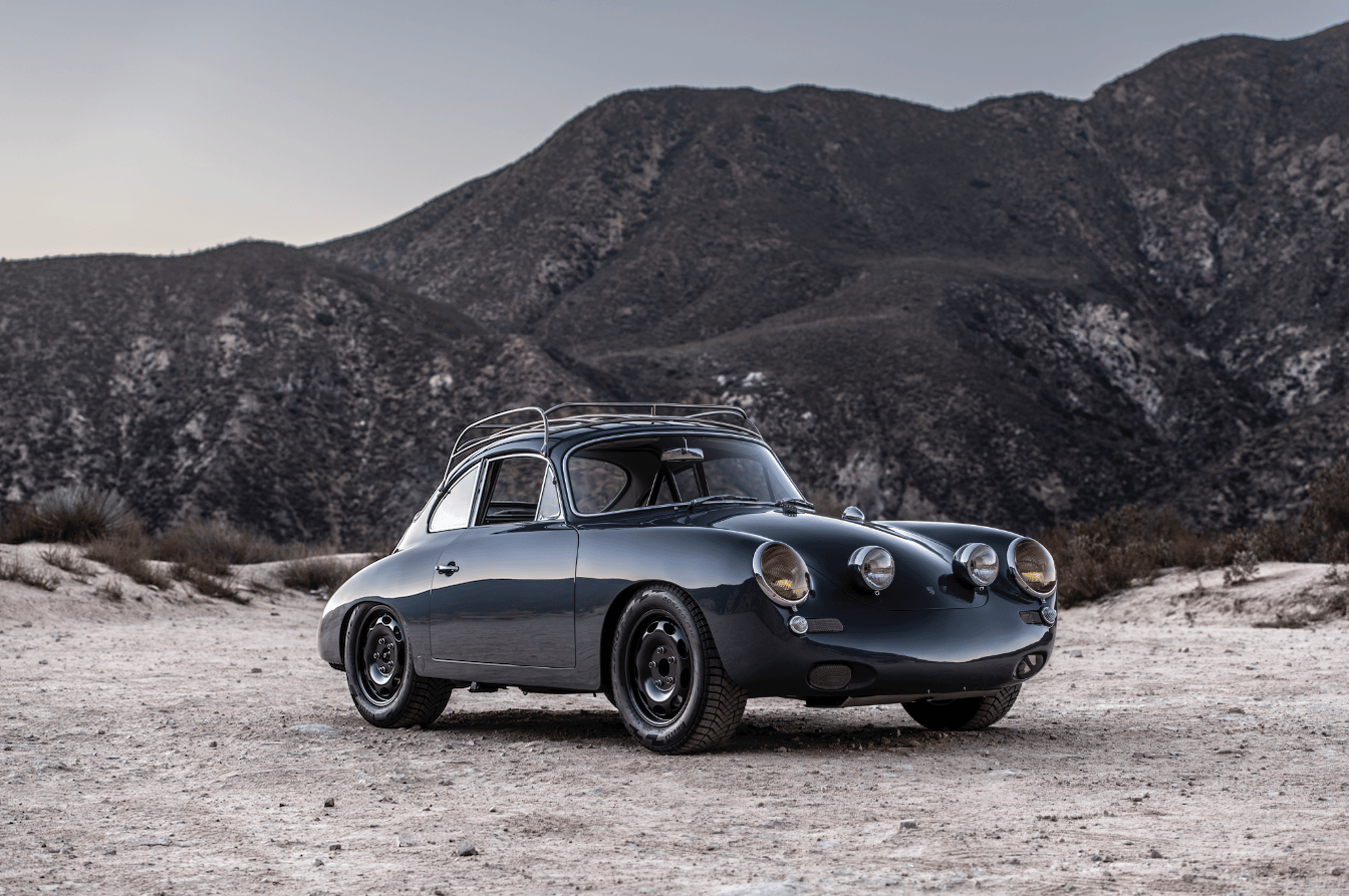 Designed for all-weather driving, the Porsche 356 C4S combines Porsche design from the 1960s and 1990s
