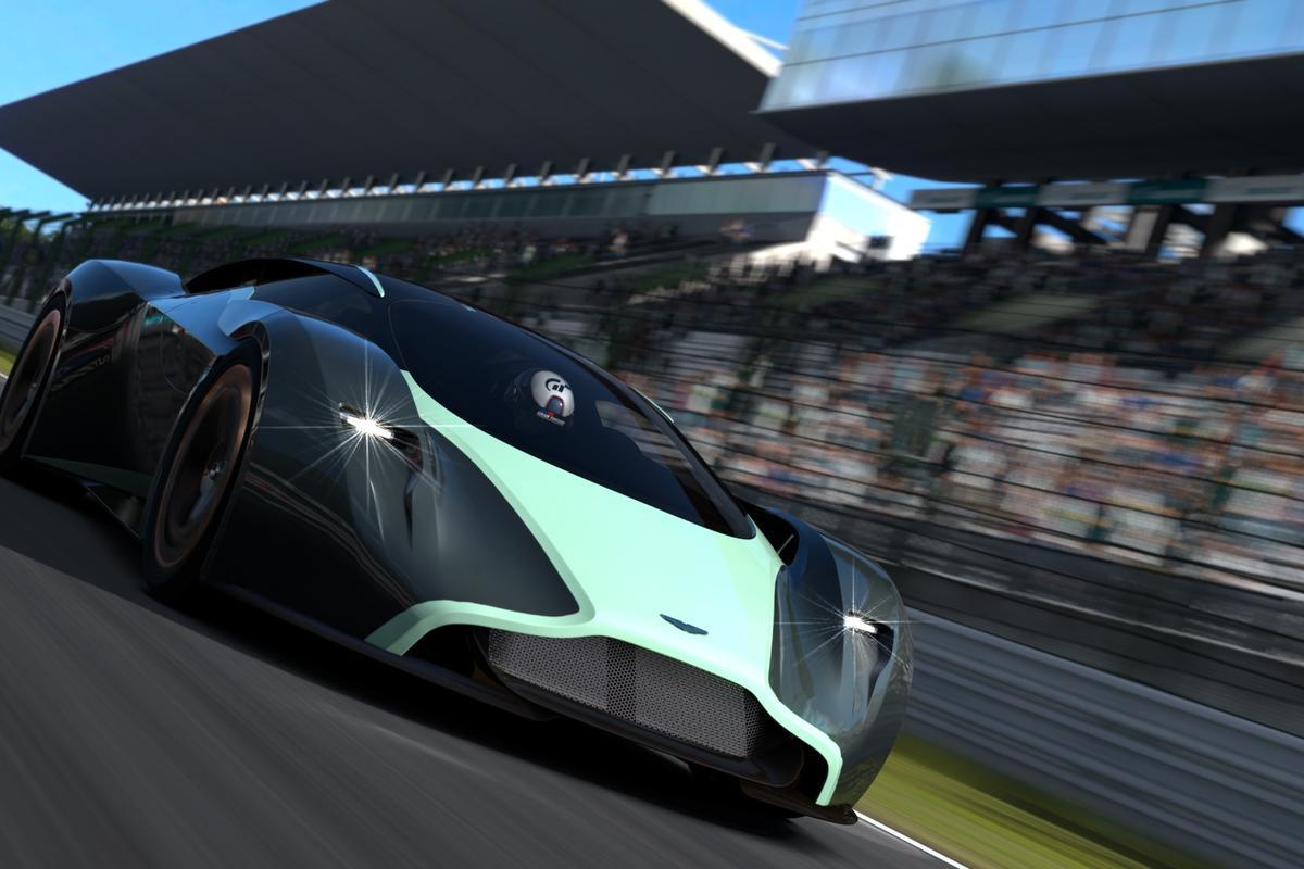 Aston Martin reveals its Vision Gran Turismo