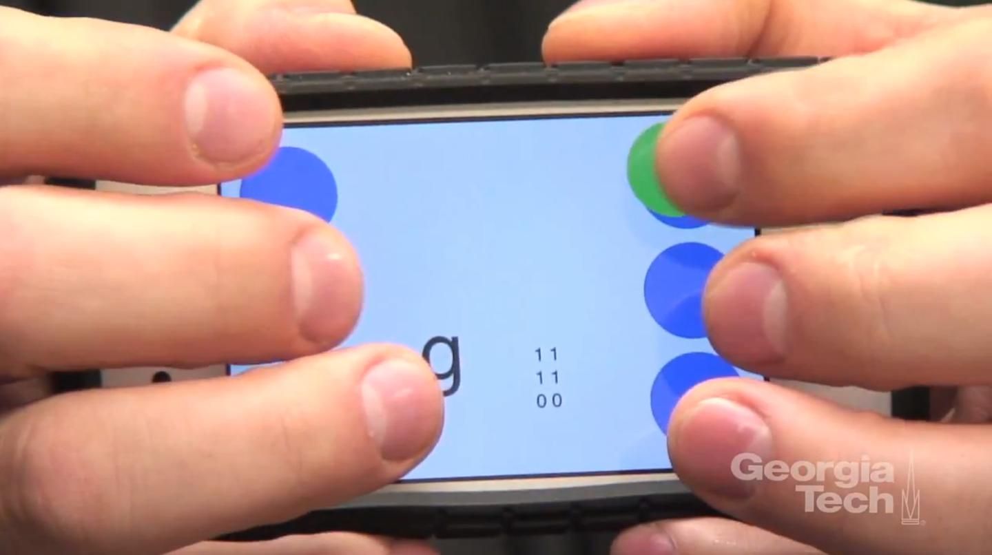 Brailletouch app to bring eyes-free texting to iPhone and iPad