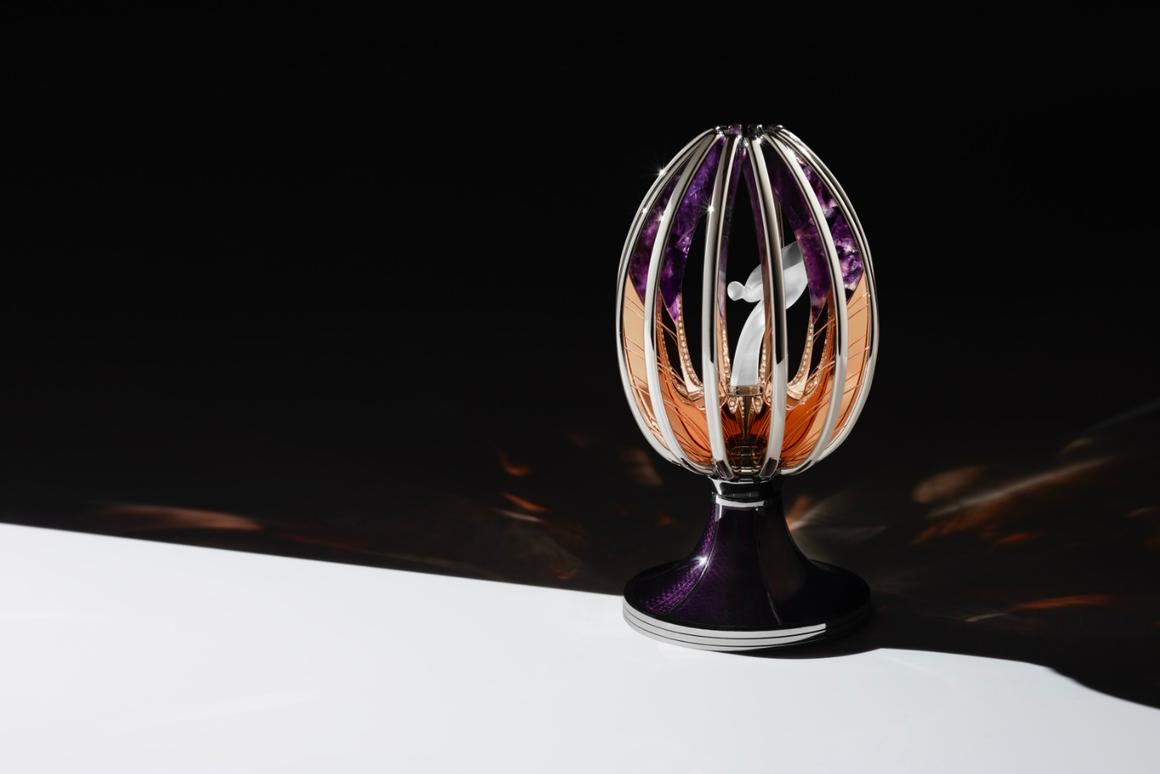 """The""""Spirit of Ecstasy"""" Fabergé Egg is the first Imperial Egg to be created in 101 years"""