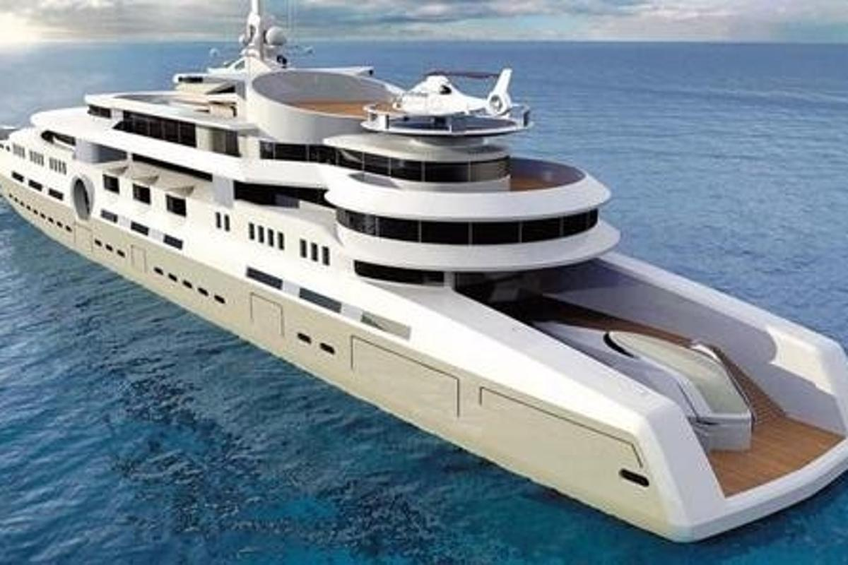 The Eclipse - the biggest and most expensive private yacht ever built.
