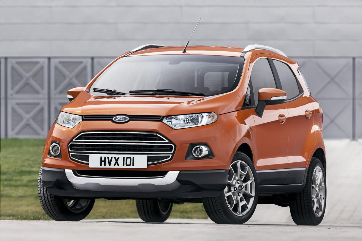 The Ford Ecosport debuts at Mobile World Congress